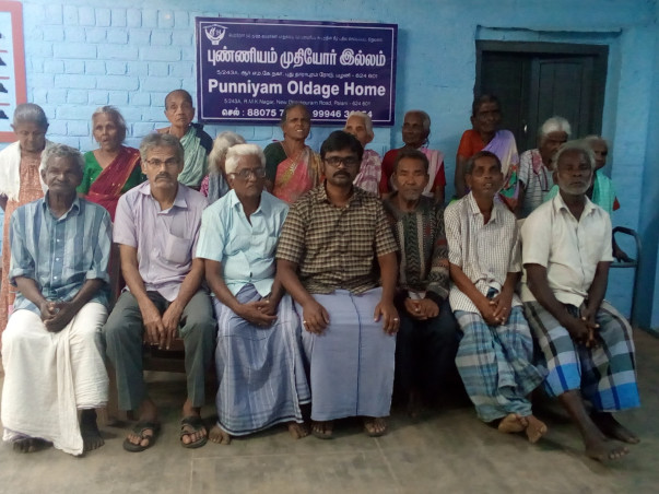 Help Destitute Elders To Live Comfortly