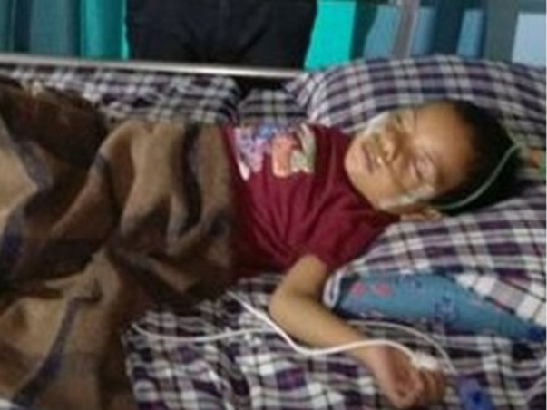 Help Ashok's son to fight hole in the heart