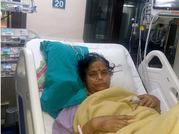 65 Years Old Tarabai Bhandari Needs Your Help Fight Cardiac Failure