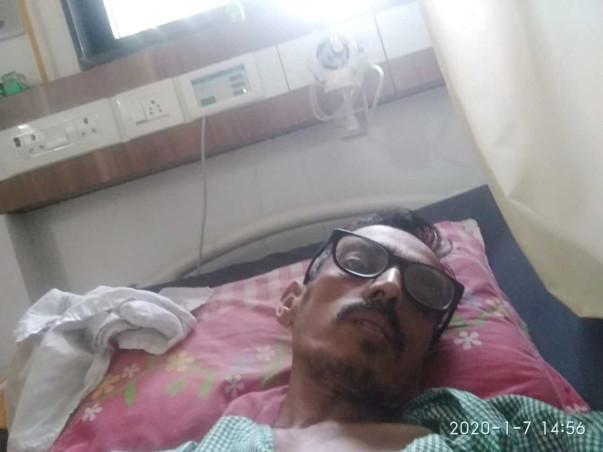 Support Pravin Ragunath Patil Undergo To Liver Transplant