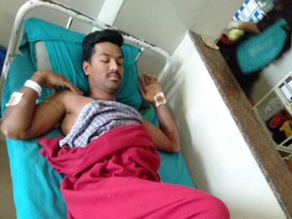 30 Years Old Manjunath Needs Your Help To Recover From Accident