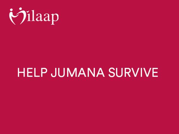 Support Jumana Khan Recover From Leukemia