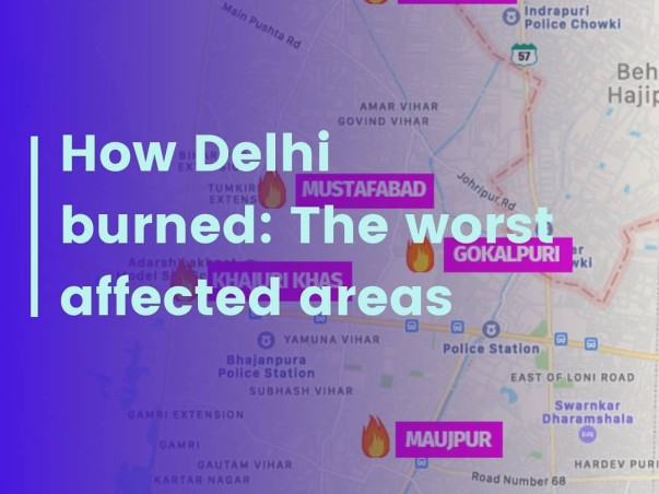 Emergency Relief For Delhi Riot Victims