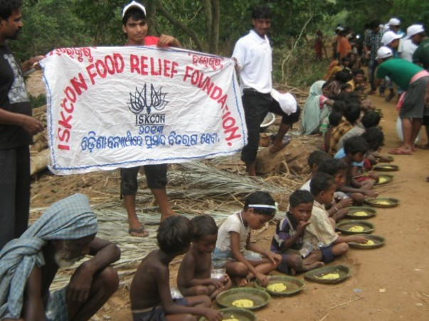 ISKCON Bokaro Food for Life and Medical AID