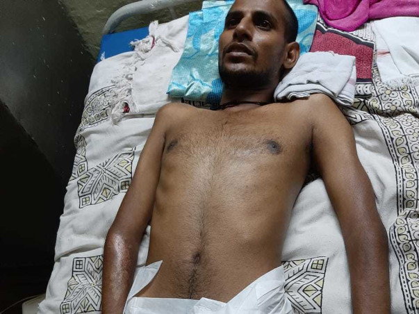 Help my friend Shashikanth Reddy recover from road traffic accident injuries