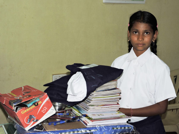 Sponsor a Girl Child Education for her bright future
