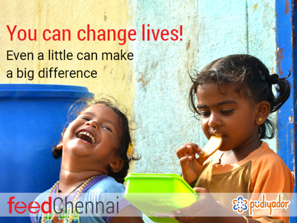 Help feed the Homeless and Daily Wage Earners in Chennai