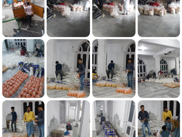 Help us provide Ration to 100 people during the lockdown