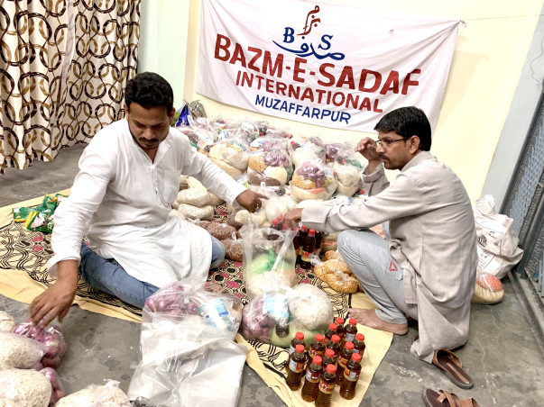 Donate For COVID19 Lockdown Affected People,BAZM-E-SADAF International