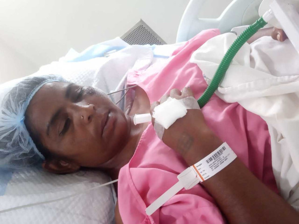 Support Jyoti Recover From Accident Ribs Fracture