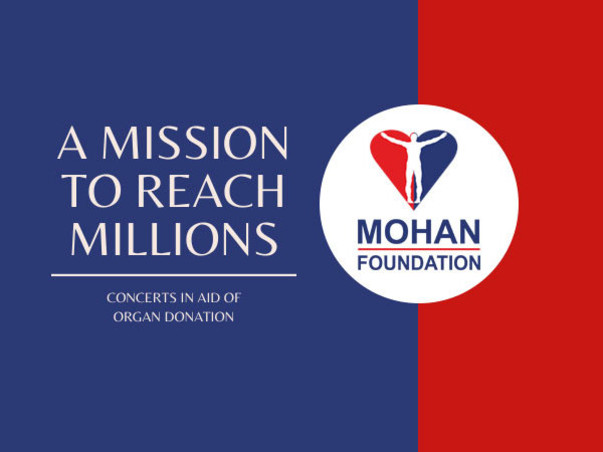 A Mission to Reach Millions - In aid of Organ Donation
