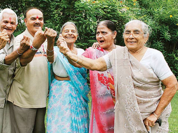 Fund raising for old age home construction