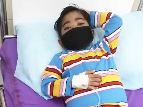 4 Yrs old Child (Lucky) need help to Survive