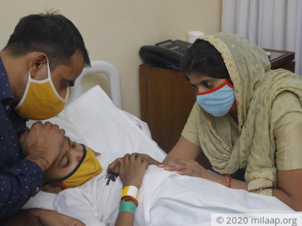 7 years old master saksham needs your help fight Acute lymphoblastic leukemia (all)