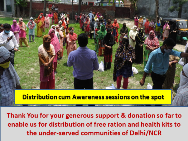 Save Lives of Healthcare Professionals and Individuals- COVID Fund-IND