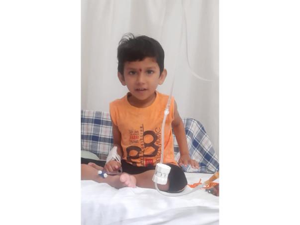 Help 4yr old Chaitanya fight against Blood Cancer!
