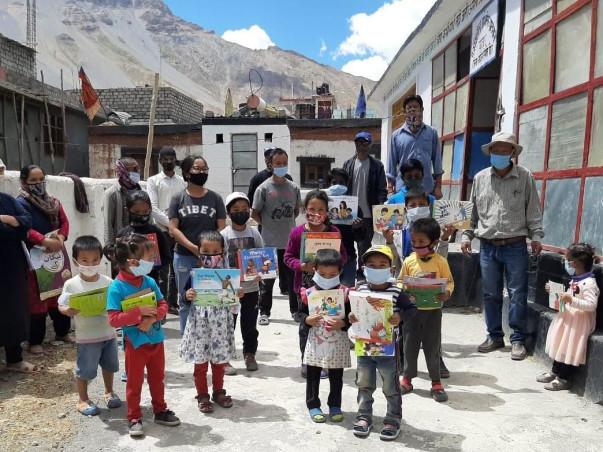 Help Make Spiti the Valley of Children's Books!