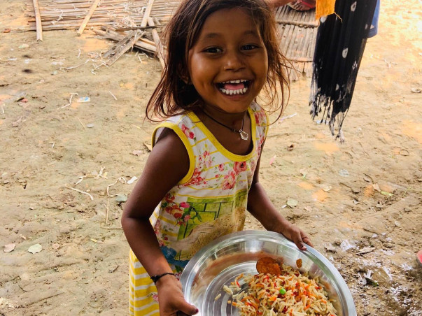 Let us celebrate Nilay's birthday by feeding the hungry.
