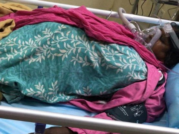 Help Manjula Amma to be alive