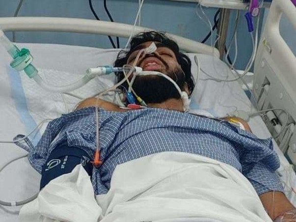 This 24 years old needs your urgent support in fighting Road traffic accident with polytrauma