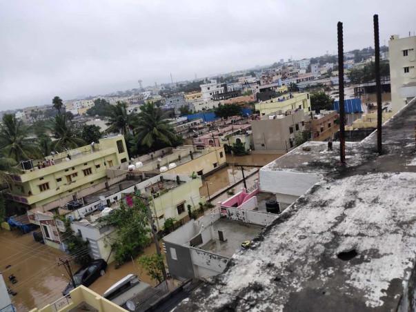 Flood Relief For Mallikarjuna Nagar Colony, Hyderabad