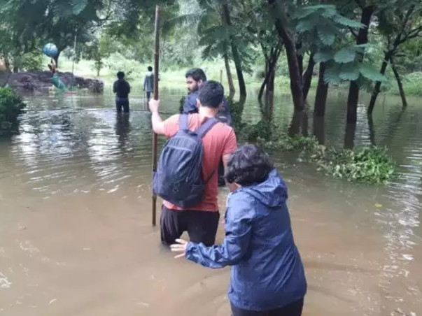 Help to save animals during floods