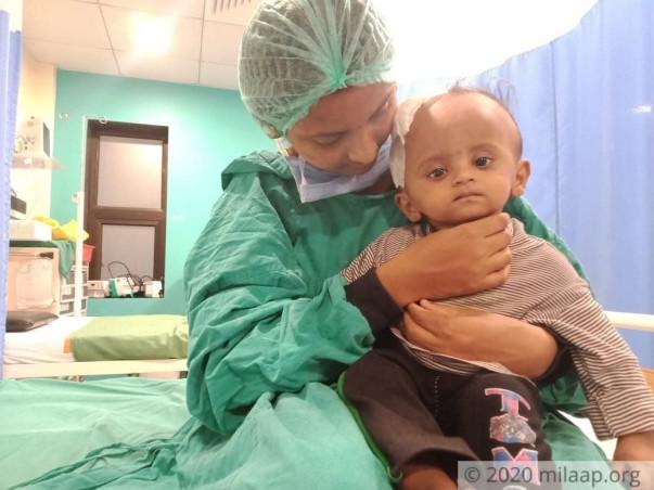 Help my daughter to undergo her Brain surgery!
