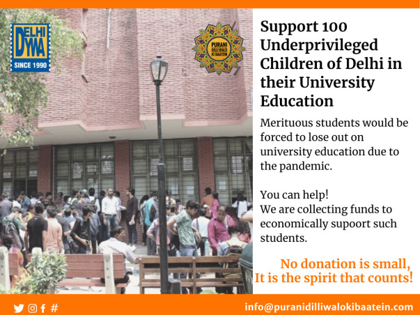 Support 100 Underprivileged students in their University Education