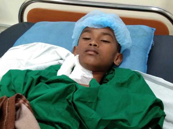 10 years old Aas needs your help fight Non hodgkin's lymphoma