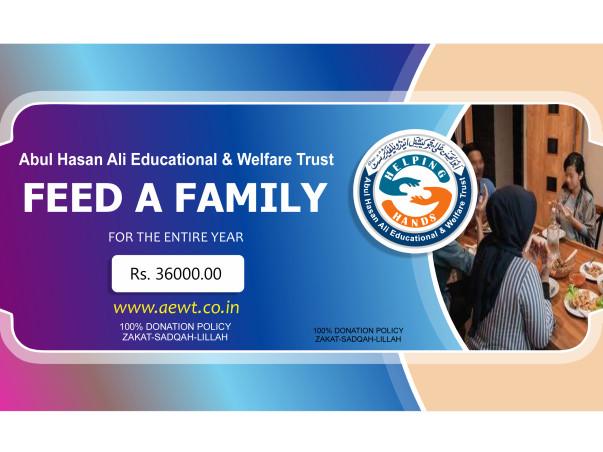 Help Abul Hasan Ali Educational & Welfare Trust Provide Food