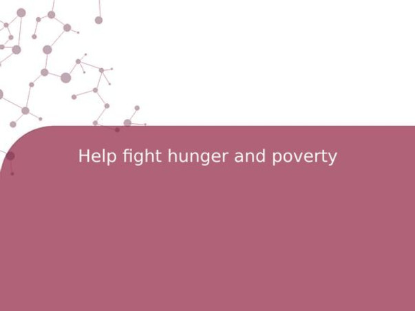 Help fight hunger and poverty