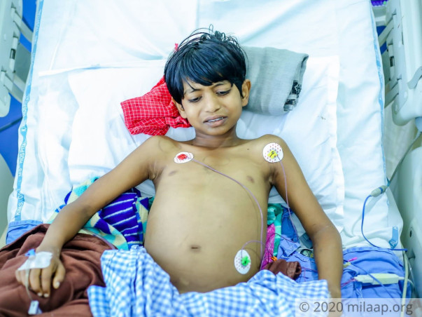 My 11 Years Old Son Needs Your Urgent Support In Fighting Liver Tumor