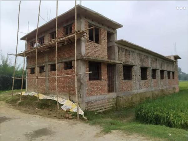 Build school building in Narkatiya Village in Sitamarhi, Bihar