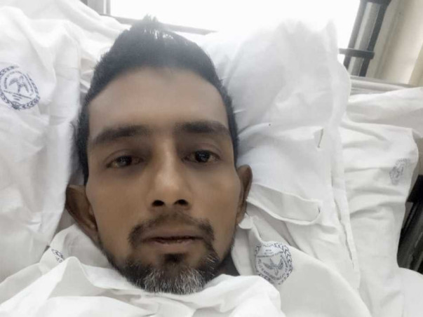 37 Years Old MD ZUBAIR Needs Your Help To Fight With Cancer.