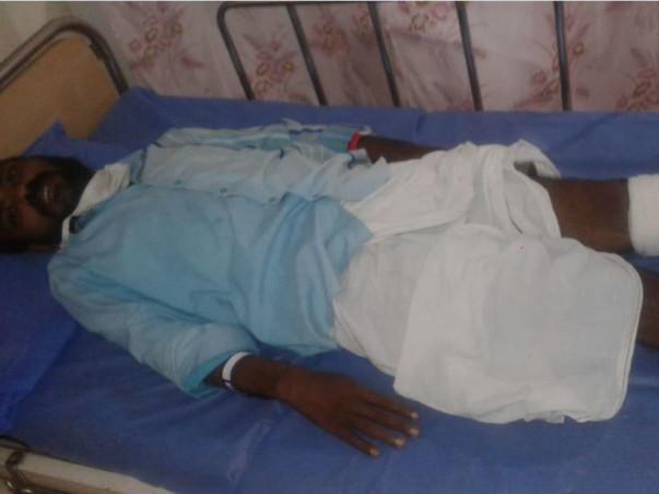 Help my friend Mr.Duraisamy to fight Cellulitis in his Left Leg