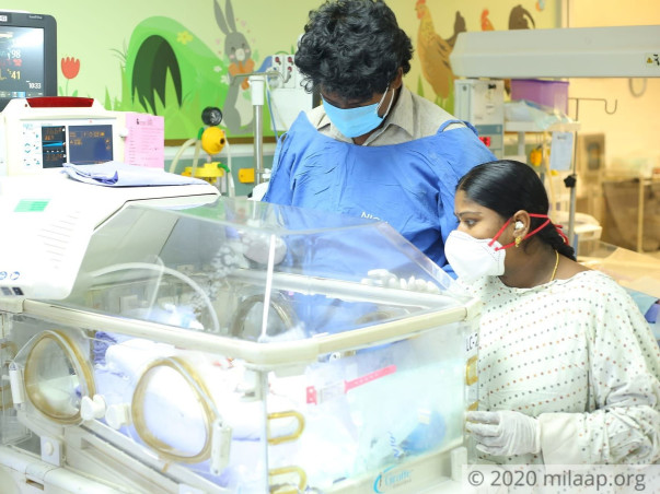 Help Swaroopa's Twins Babies Recover