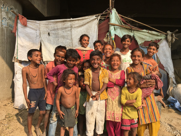Help these kids with a shelter for education