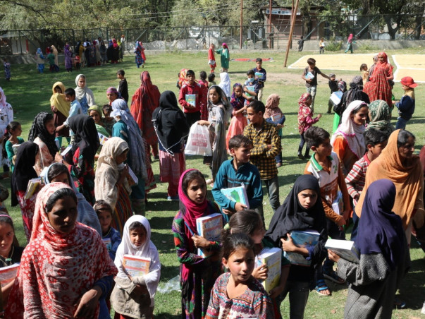 Gift A School Kit to the kids of Kashmir Valley