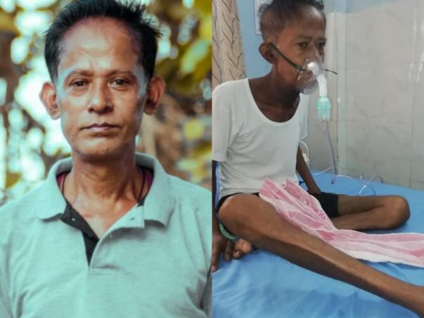 Help my father Paresh Borah fight throat cancer