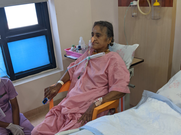 Support Srimathi N recover from Lung Pneumonia