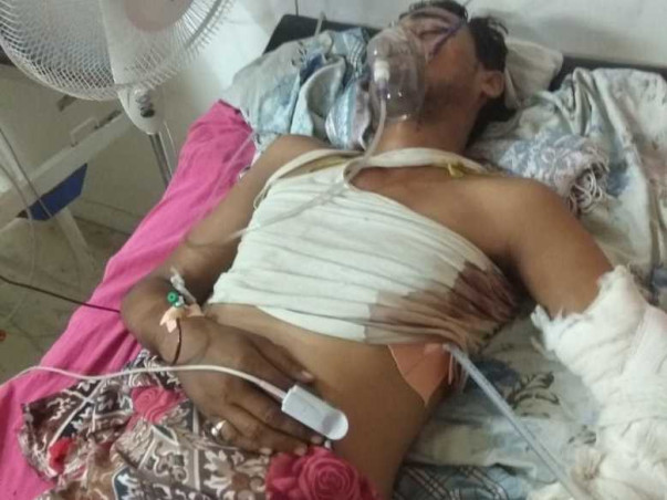 Support Chetan Pandey Recover From Accidental Injuries