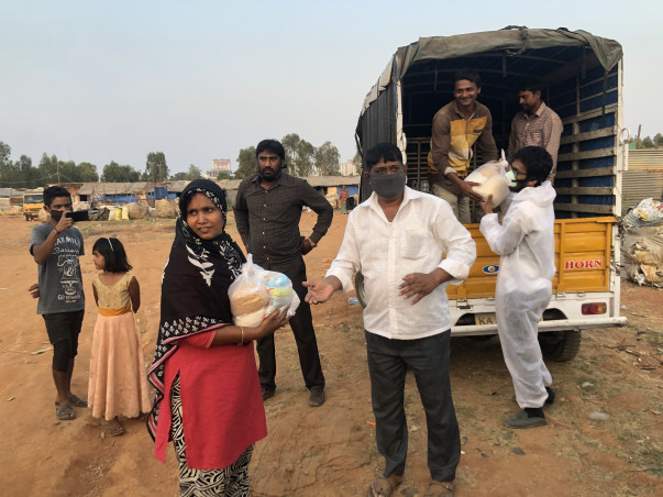 Help The Underprivileged Covid Affected Families With Ration