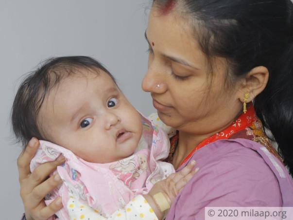 6 months old Praneet needs your help fight Hemophagocytic lymphohistiocytosis (HLH)