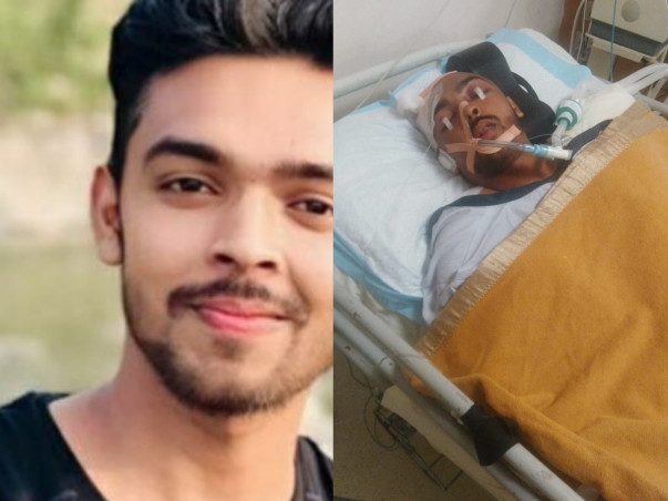 Support Shwetank Chaudhary Recover from Head Injury And Neurological Shock