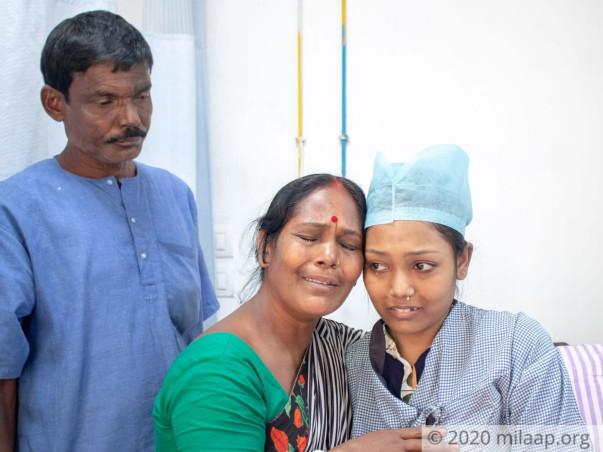 Help My Daughter Undergo Heart Transplantation