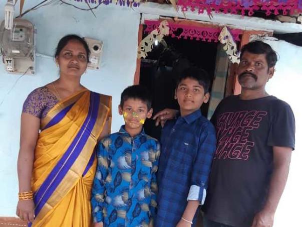 Help Ramaiah Fight Paralysis Attack & Corona
