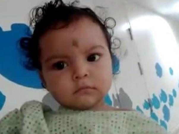Help 9 months old Neelashma fight Stomach Tumor (to Malignancy)