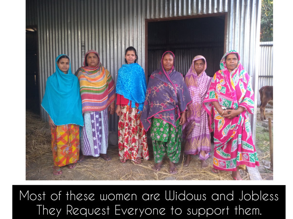 HELP THESE WOMEN BUILD A FUTURE