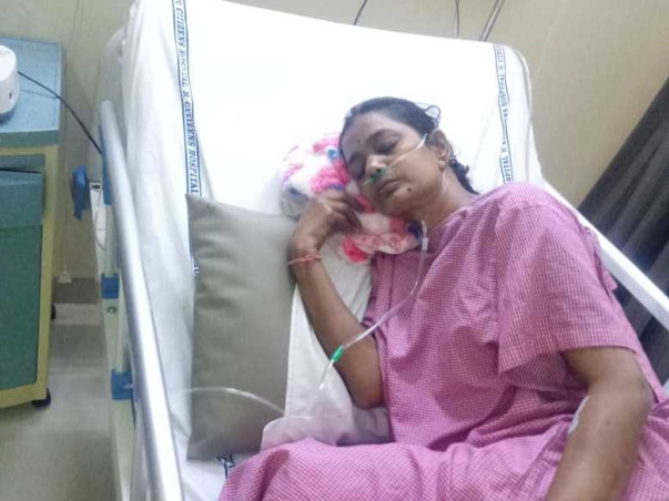 Help niraja to fight against lungs cancer