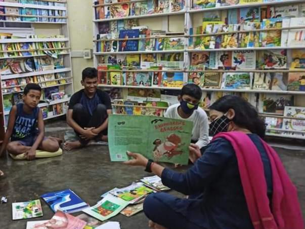 Support NEET's free community library for under privileged children